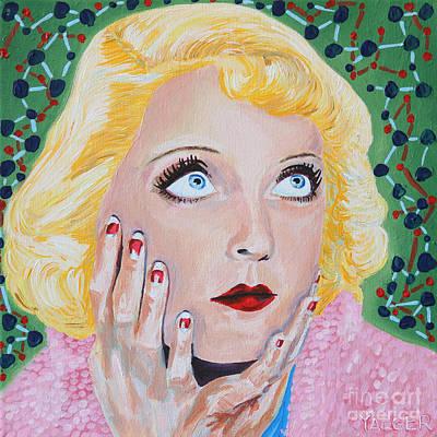 Bette Davis Portrait Original by Robert Yaeger