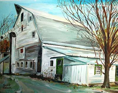 Millbury Painting - Better Days by Scott Nelson