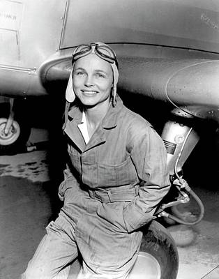 Betty Gillies Print by Us Air Force