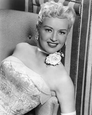 Betty Grable In How To Marry A Millionaire  Print by Silver Screen
