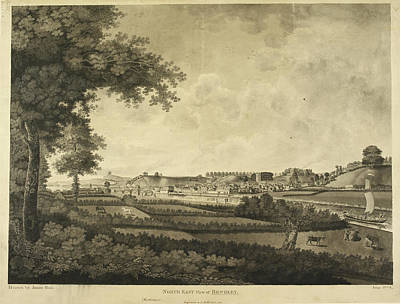Indian Ink Photograph - Bewdley And Surrounding Countryside by British Library
