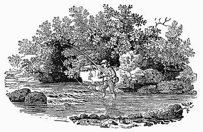 Bewick Fishing, C1800 Print by Granger