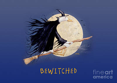 Ducks Painting - Bewitched... by Will Bullas