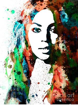 Beyonce Painting - Beyonce by Luke and Slavi