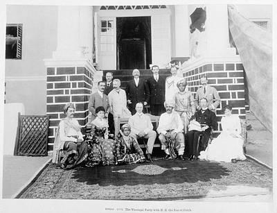 Gathering Photograph - Bhuj by British Library