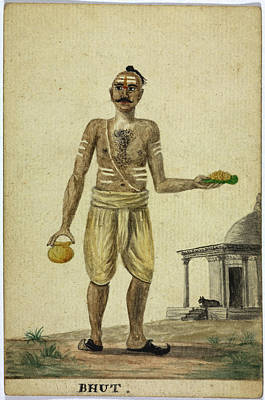 Bhut Print by British Library