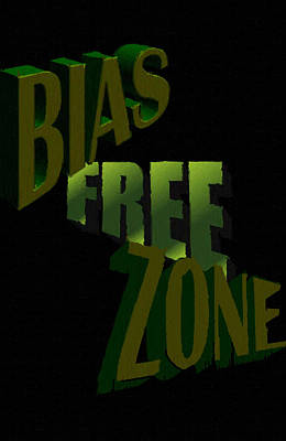 Justice Painting - Bias Free Zone by Social Justice Ink