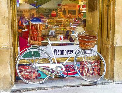 Prague Photograph - Bicycle Bike by Justyna JBJart