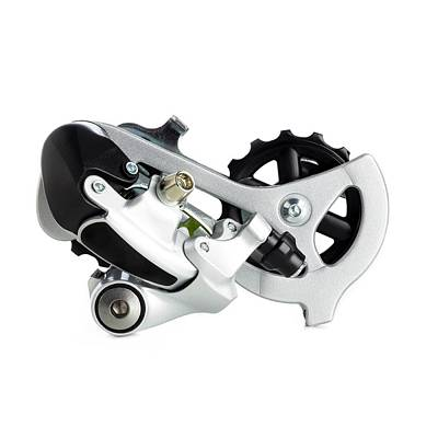 Bicycle Derailleur Print by Science Photo Library