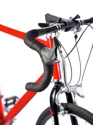 Up-cycling Photograph - Bicycle Handlebars by Science Photo Library