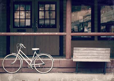 Bicycle Print by Lisa Knechtel