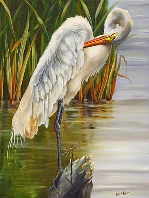 New Orleans Oil Painting - Bienvenue by Phyllis Beiser