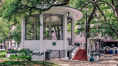 Bienville Square Print by Rob Sellers