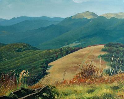 Eastern Europe Painting - Bieszczady - View Of Smerek From Mala Rawka by Wojciech Pater