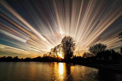 Explosion Digital Art - Big Bang by Matt Molloy