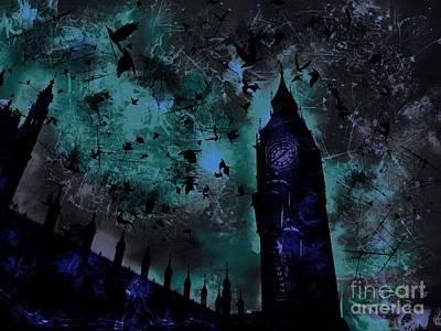 Epic Digital Art - Big Ben by Marina McLain