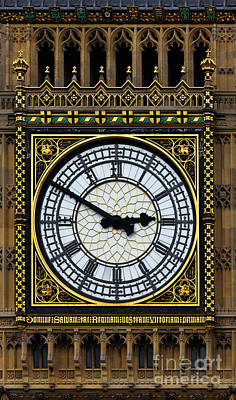 3.14 Photograph - Big Ben Portrait by James Brunker