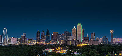 Dallas Skyline Photograph - Big D by Meredith Butterfield