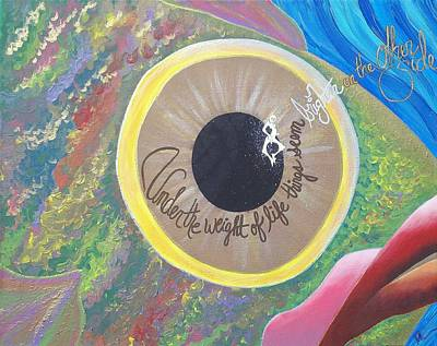 Big Eyed Fish Original by Nina Giordano