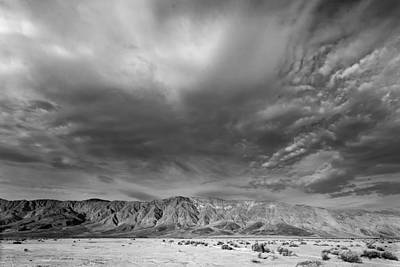 Dry Lake Photograph - Big Sky by Peter Tellone