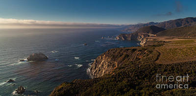 Big Sur California Photograph - Big Sur Headlands by Mike Reid
