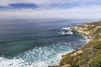 Seascape Photograph - Big Sur Seascape by Priya Ghose