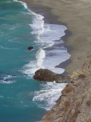 Big Sur Surf Print by Art Block Collections