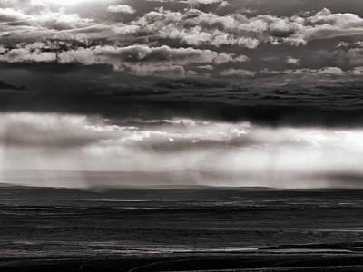 Bighorn Basin Storm Print by Leland D Howard