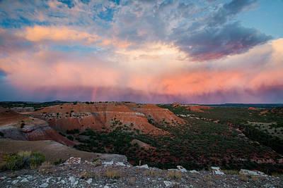 Bighorn Basin Sunset Print by Leland D Howard