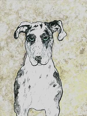Bijeaux The Great Dane Original by Claire Decker