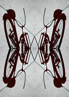 Abstraction Photograph - Bike Horizon 2013 by James Warren