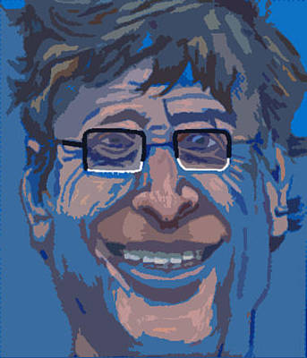 Bill Gates Original by Mike Miller