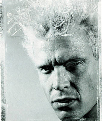 Billy Idol Photograph - Billy Idol - Charmed Life Inner Sleeve 1990 by Epic Rights