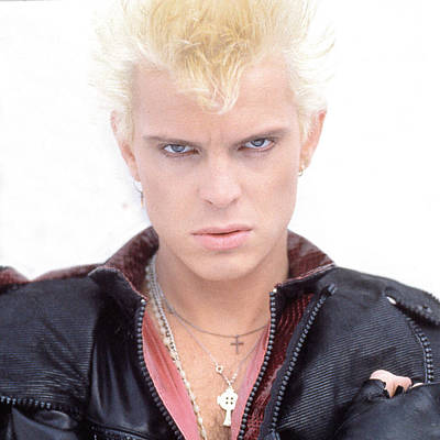 Billboards Photograph - Billy Idol - Early Years by Epic Rights