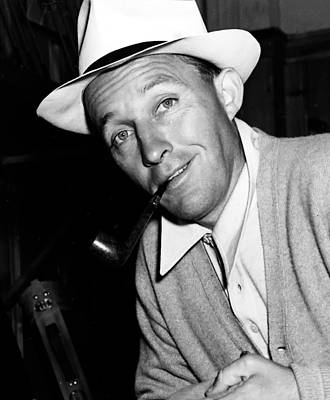 Beloved Photograph - Bing Crosby - 1942 by Mountain Dreams