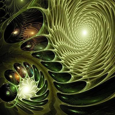 Alien Digital Art - Bio by Anastasiya Malakhova