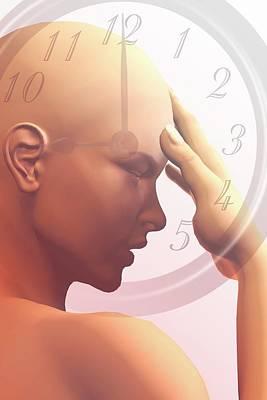 Biological Clock Print by Carol & Mike Werner