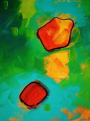 Microscopic Painting - Biology by Nancy Merkle