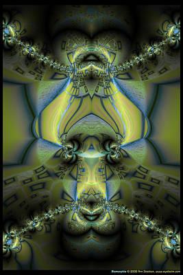 Biomorphia Print by Ann Stretton