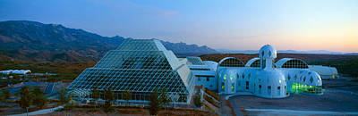 Of Artist Photograph - Biosphere 2 At Sunset, Arizona by Panoramic Images