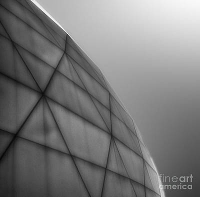 Biosphere2 - Dome Print by Gregory Dyer