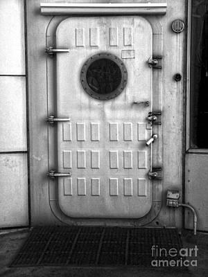 Biosphere2 - Door Print by Gregory Dyer