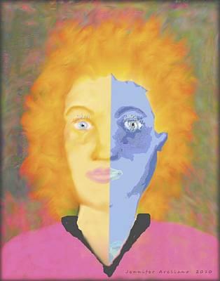 Bipolar Digital Art - Bipolar by Jennifer Lesher - Arellano