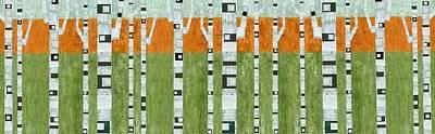 Birches In Spring Print by Michelle Calkins