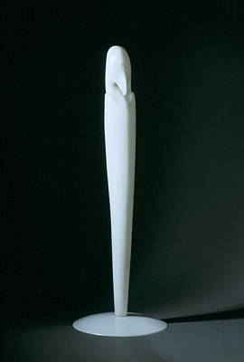 Sculpture - Bird At Prayer by Manuel Abascal