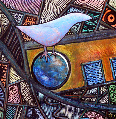 Birdball Print by James Raynor