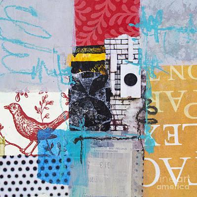 Avant Garde Mixed Media - Bird's Song by Elena Nosyreva