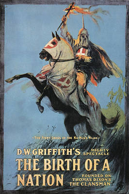 Birth Of Nation, 1915 Print by Granger