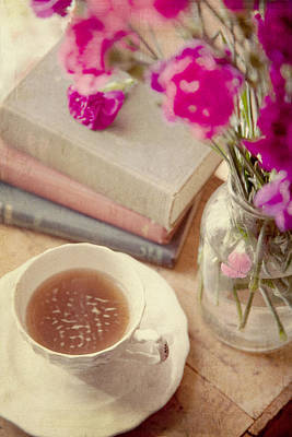 Birthday Tea Time Print by Toni Hopper