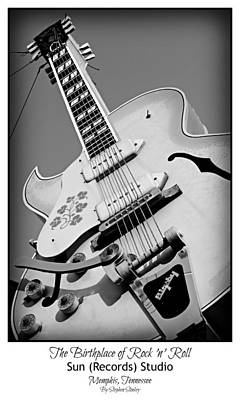 Memphis Recordings Photograph - Birthplace Of Rock N Roll by Stephen Stookey